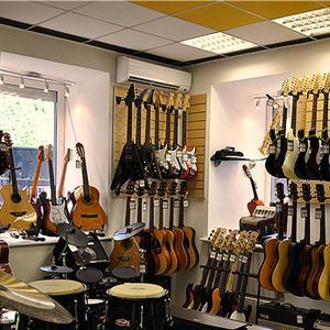 Музыкальные магазины Милославского